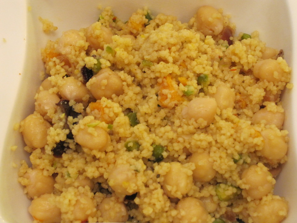 couscous salat mit feta koriander k mmel und kichererbsen rezept mit bild. Black Bedroom Furniture Sets. Home Design Ideas