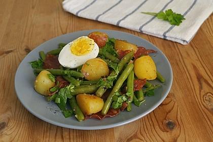 Grüne Bohnen-Kartoffel-Pfanne