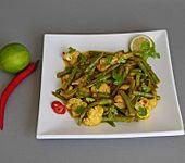 Blumenkohl-Bohnen-Curry mit Kokosmilch