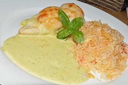 Curry Huhn mit Aprikosen und Pistazien