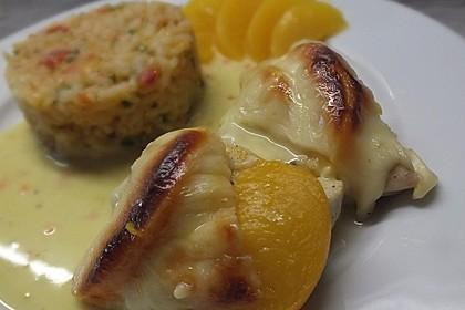 Curry Huhn mit Aprikosen und Pistazien 1