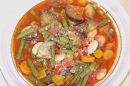 Gemüsesuppe italienische Art 5
