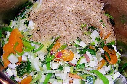 Gemüsesuppe italienische Art 16