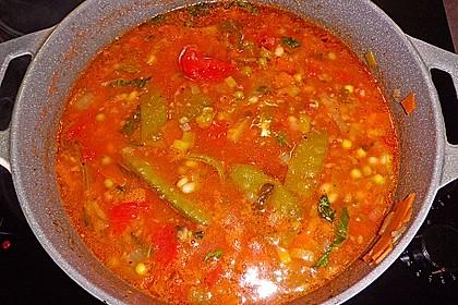 Gemüsesuppe italienische Art 17