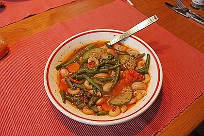 Gemüsesuppe italienische Art 10