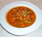 Gemüsesuppe italienische Art