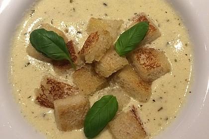 Allgäuer Käsesuppe mit Kräutern