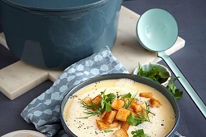 Allgäuer Käsesuppe mit Kräutern 2