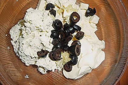 Feta - Aufstrich mit Oliven 6