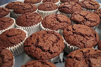 American Brownie Muffins 7