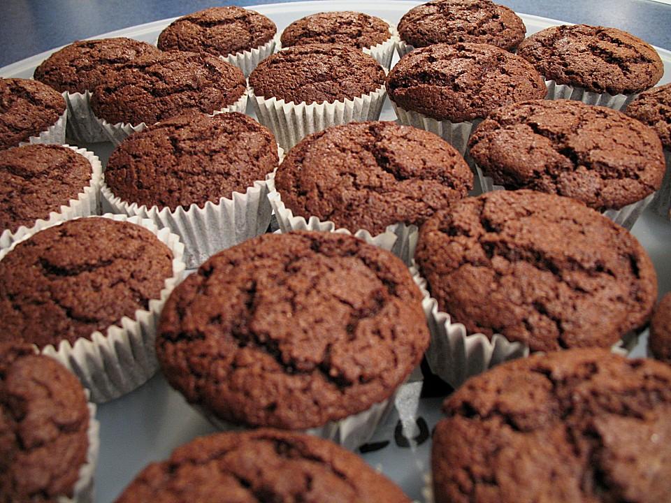american brownie muffins rezept mit bild von alina1st. Black Bedroom Furniture Sets. Home Design Ideas