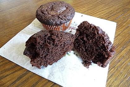 American Brownie Muffins 16