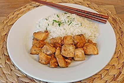 Japanischer gegrillter Lachs mit Teriyaki - Soße 16