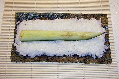 Vegetarische gerollte Sushi (Makizushi) 6