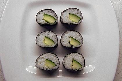 Vegetarische gerollte Sushi (Makizushi) 3