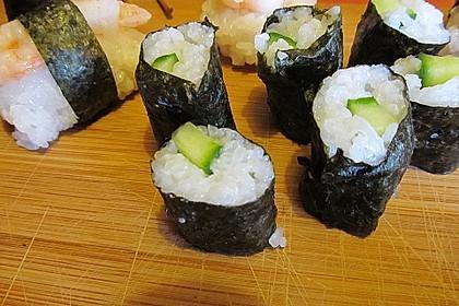Vegetarische gerollte Sushi (Makizushi) 5