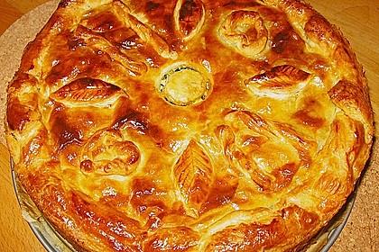 Blätterteig - Pie mit Hackfleisch - Spinat Füllung 1