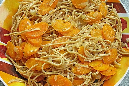 Pasta mit Chili - Möhren 6