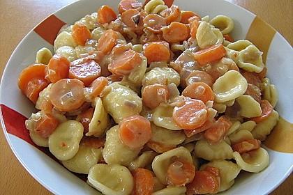 Pasta mit Chili - Möhren 3