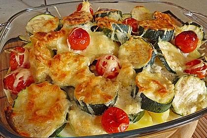 Zucchini - Kartoffel Auflauf 0