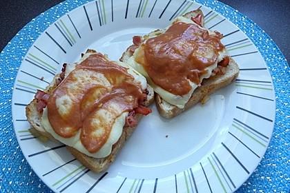 Pikanter Toast