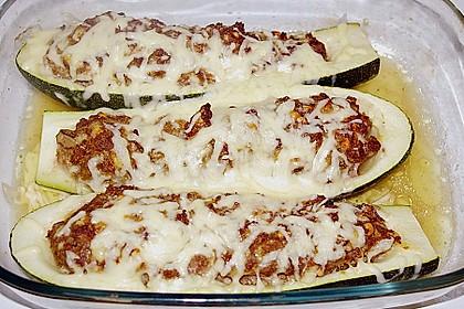 Zucchini, gefüllt 13