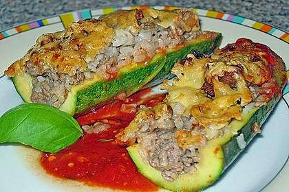 Zucchini, gefüllt 1