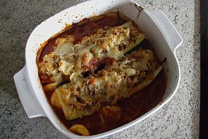 Zucchini, gefüllt 18