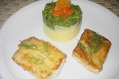 Schellfischfilet mit Kartoffel - Frisée Püree 1