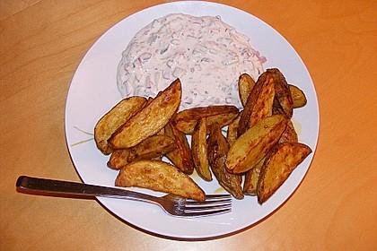 Kartoffelecken mit Quark 1