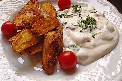 Kartoffelecken mit Quark 0