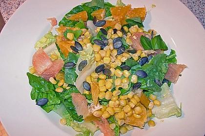 Florida - Salat mit Orangen und Grapefruits