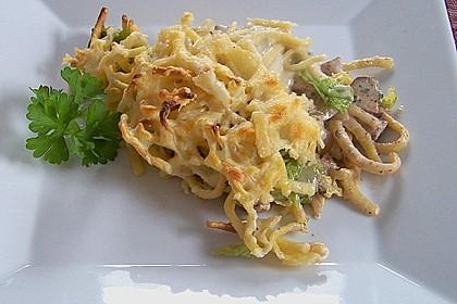 Champignon-Käse-Spätzle 3