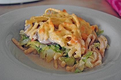 Champignon-Käse-Spätzle 1
