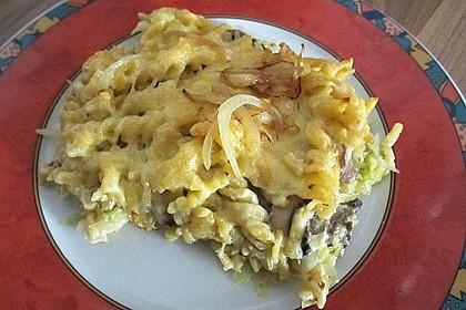Champignon-Käse-Spätzle 24