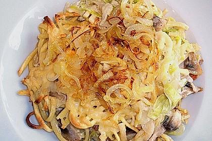 Champignon-Käse-Spätzle 7
