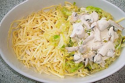 Champignon - Käse - Spätzle 27