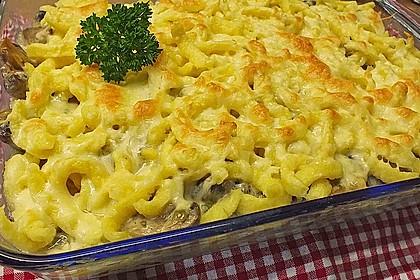 Champignon-Käse-Spätzle 6