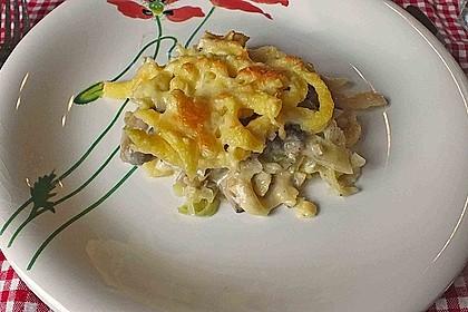 Champignon-Käse-Spätzle 16