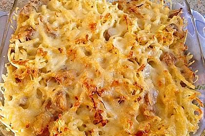 Champignon-Käse-Spätzle 21