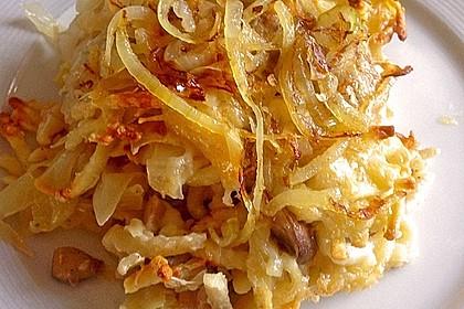 Champignon-Käse-Spätzle 12