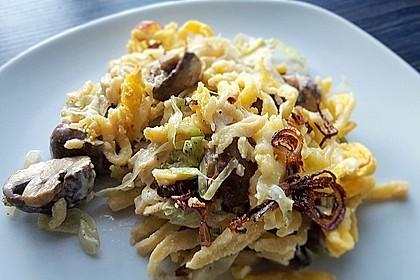 Champignon - Käse - Spätzle 4