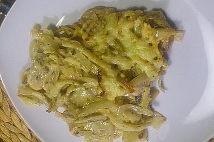 Champignon-Käse-Spätzle 30