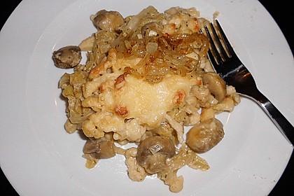 Champignon-Käse-Spätzle 20