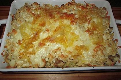 Champignon-Käse-Spätzle 22