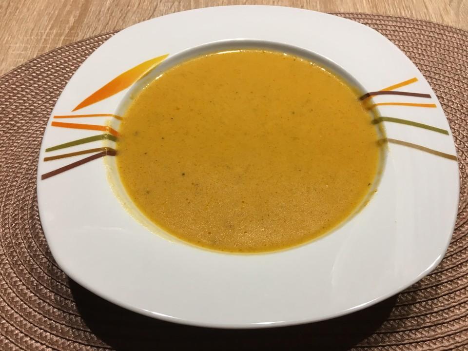 Kürbissuppe mit Orangensaft und Ingwer (Rezept mit Bild) | Chefkoch.de