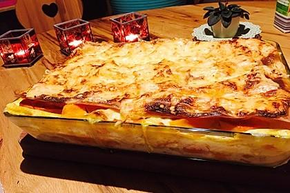Kürbis-Lasagne mit Tomaten 6