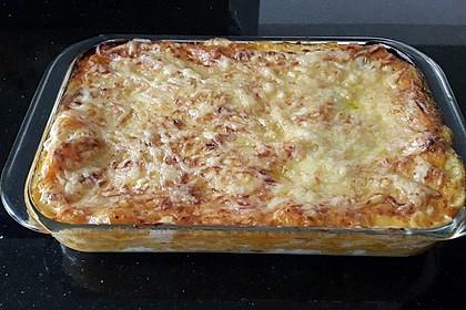 Kürbis-Lasagne mit Tomaten 8