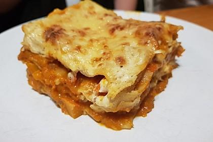Kürbis-Lasagne mit Tomaten 4