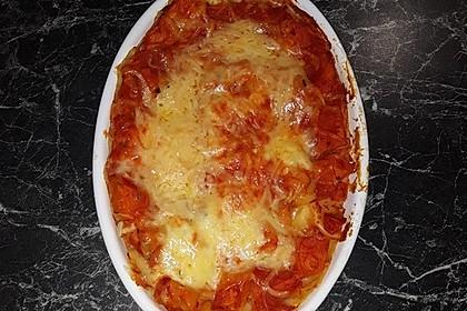 Kürbis-Lasagne mit Tomaten 15